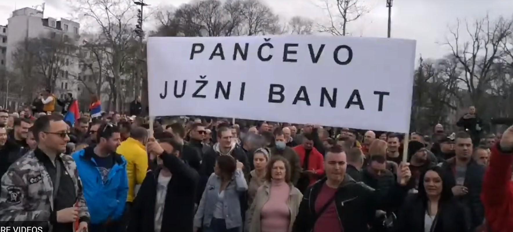 sa protesta muzičara u Beogradu