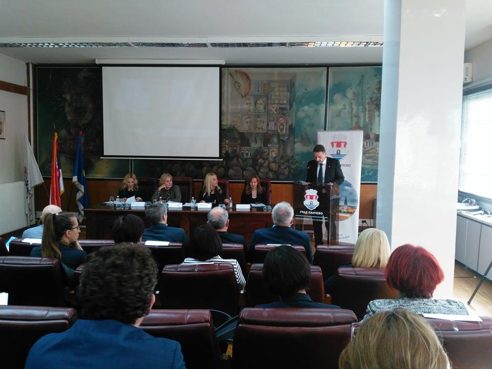 Sednica Odbora za ljudska i manjinska prava i ravnopravnost polova Narodne skupštine u Pančevu