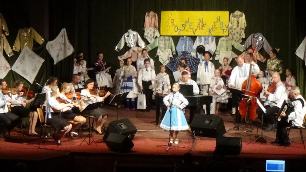 Pobednica festivala u mladjoj kategoriji Marija Magdalena Tornjoš iz Kovačice