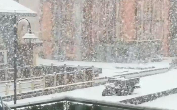 Sneg u Livinju