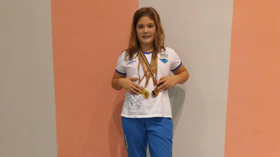Srna Milutinović PK Dinamo Pančevo u Rumuniji