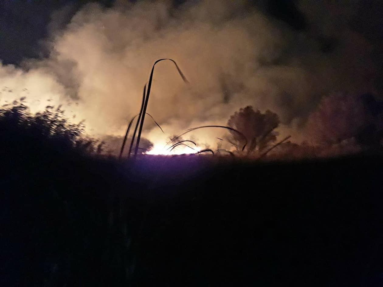 Požar od Stratišta do Jabuke