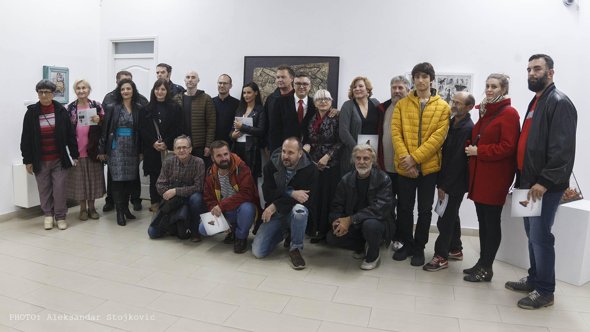 Umetnici na Salonu umetnosti Pančeva 2019
