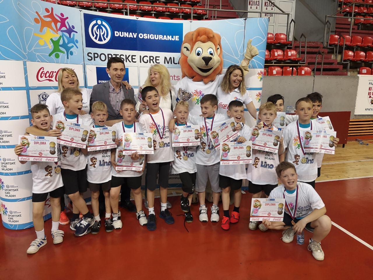 Učenici iz Omoljice na Malim olimpijskim igrama