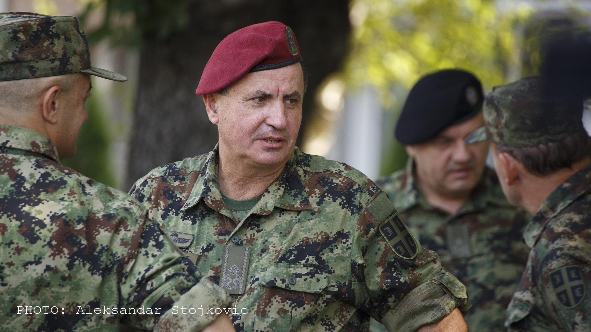 Brigadni general Zoran Veličković
