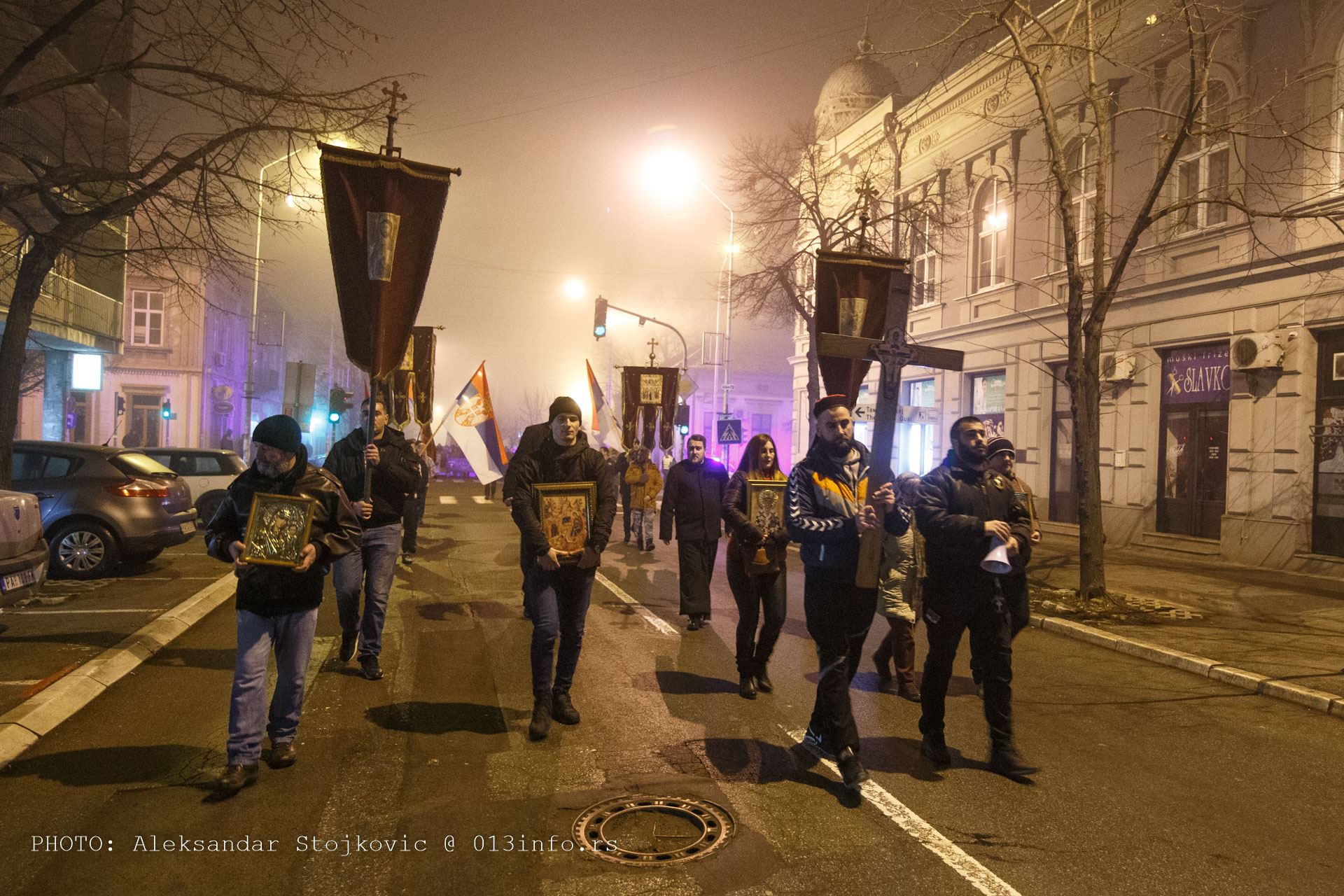 Moleban i litija za podršku narodu i sveštenstvu Crne Gore