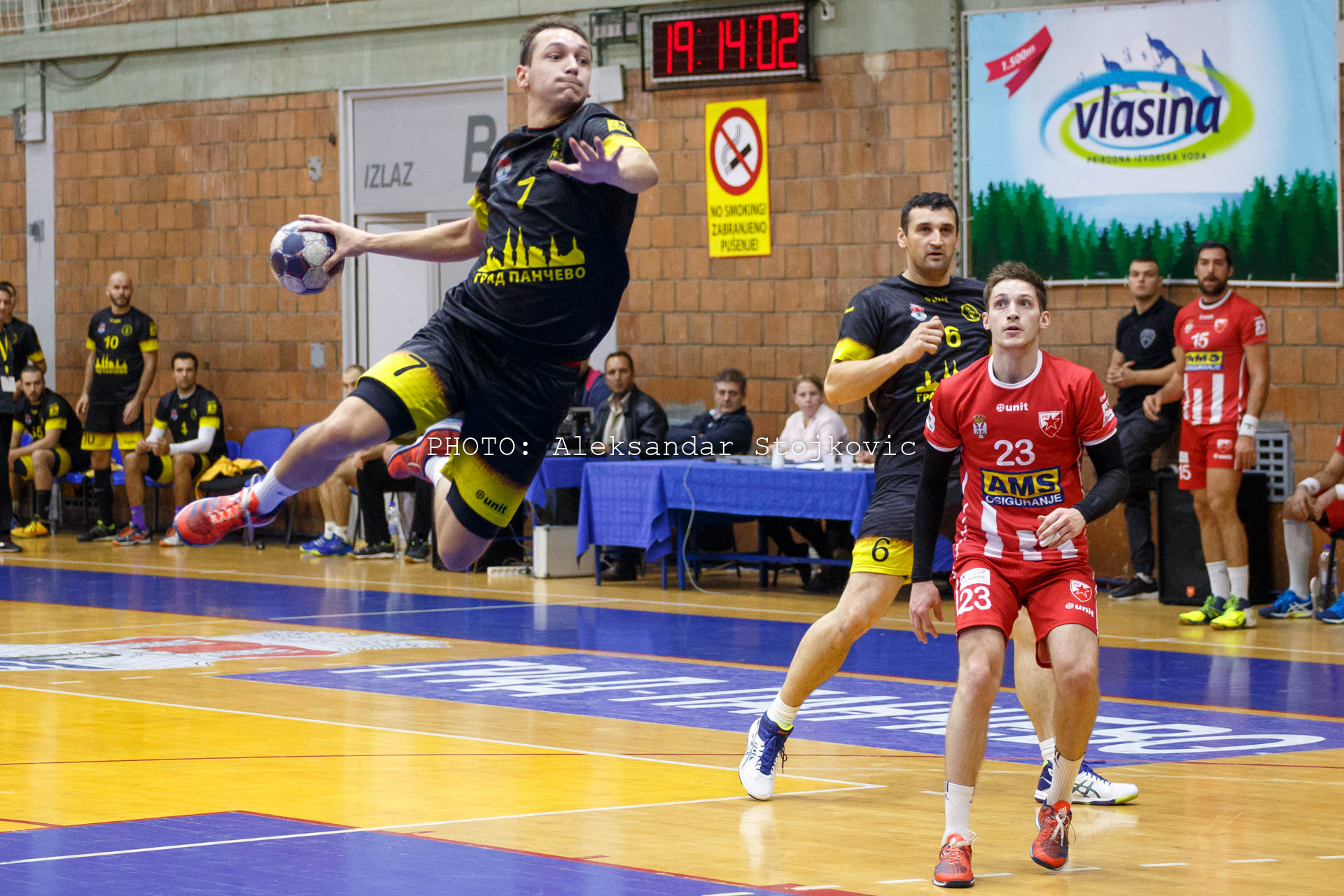 Rukomet Dinamo Pančevo - Crvena Zvezda Beograd