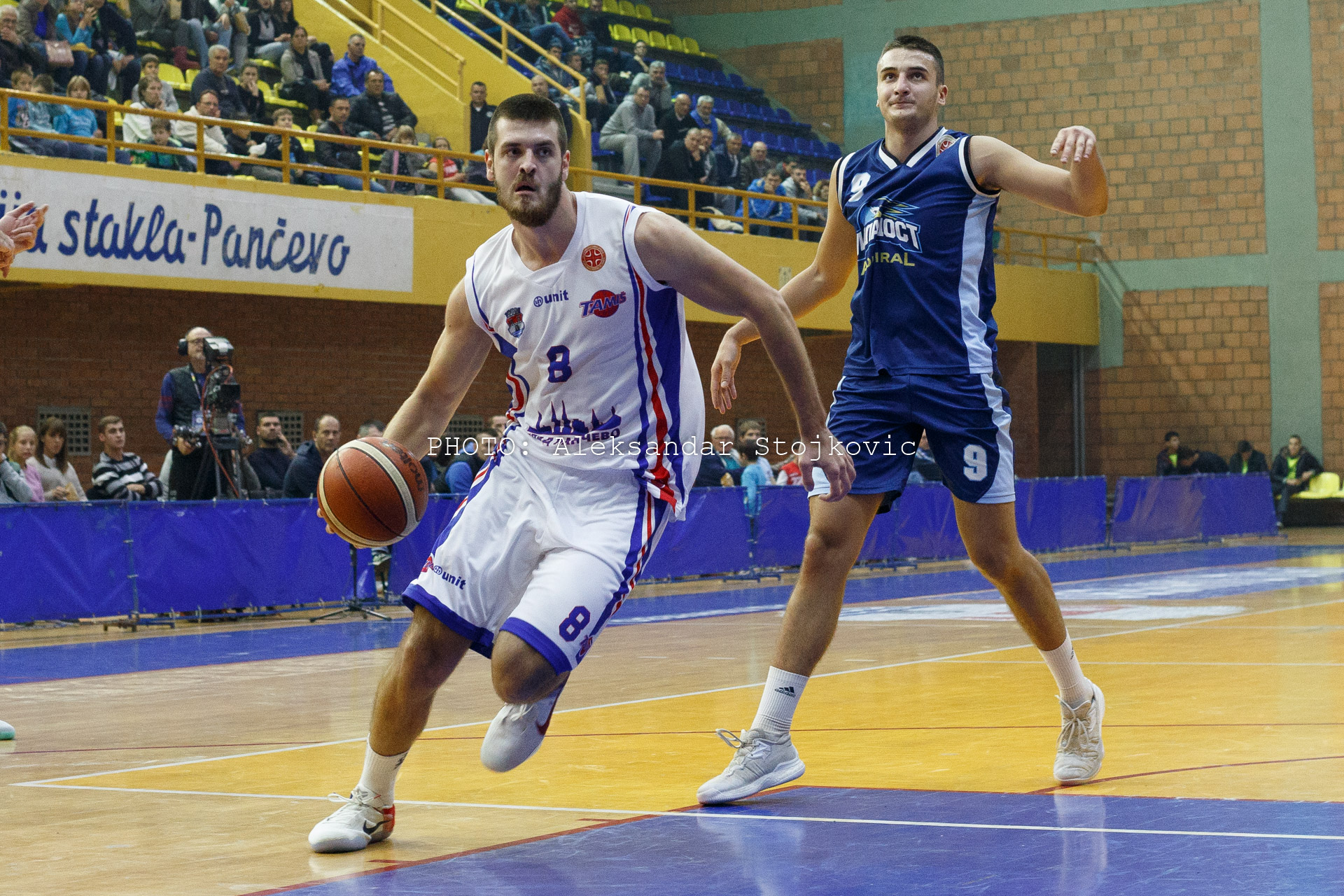 Tamiš Pančevo - Mladost Zemun košarka KLS
