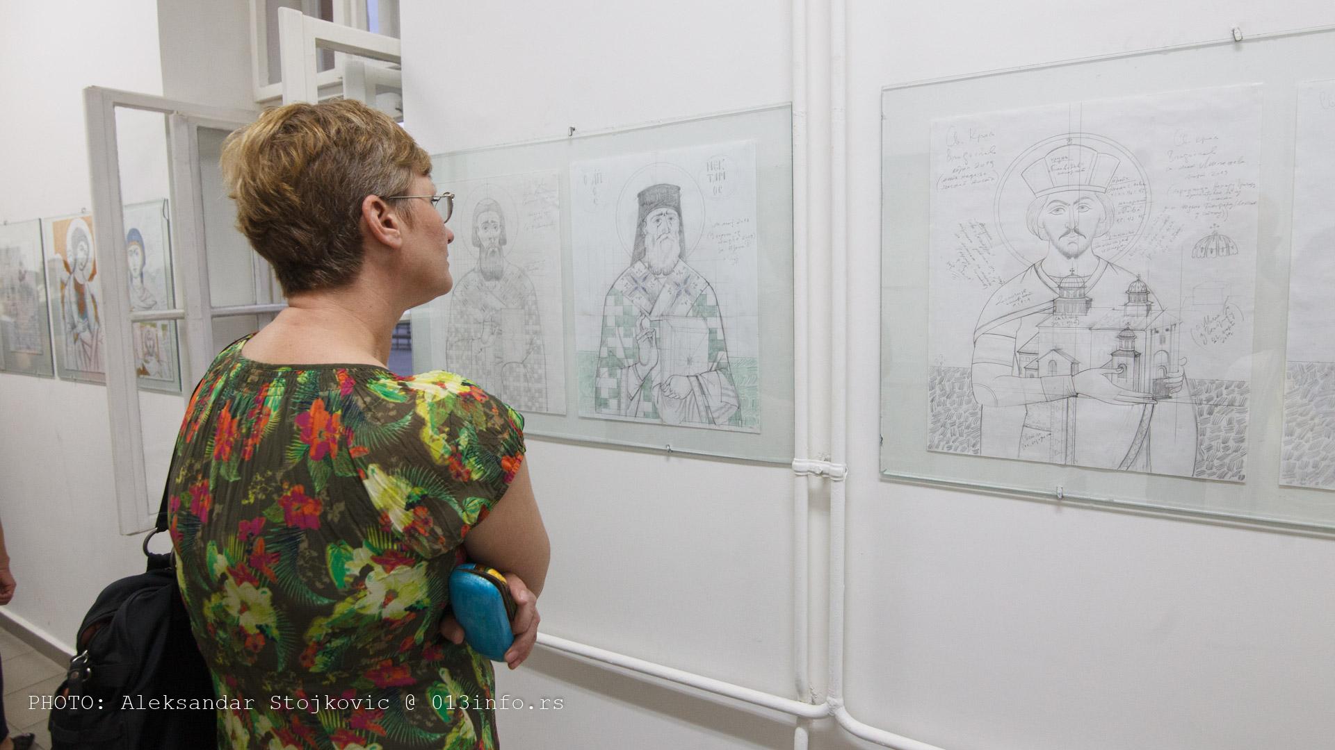 Izložba Čedomir Milosavljević