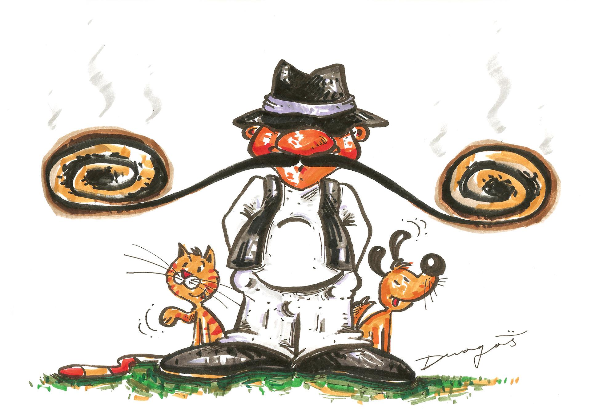 Karikatura nedelje Nikola Dragaš
