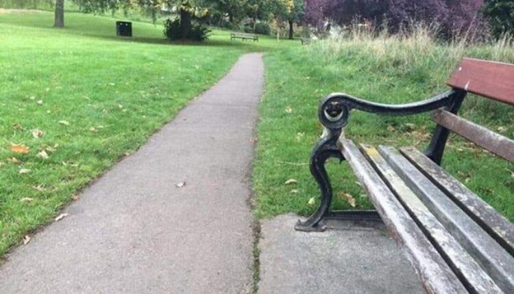 Pas u parku