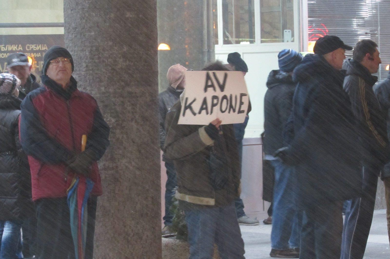 Protest u Pančevu 25. januara 2019.