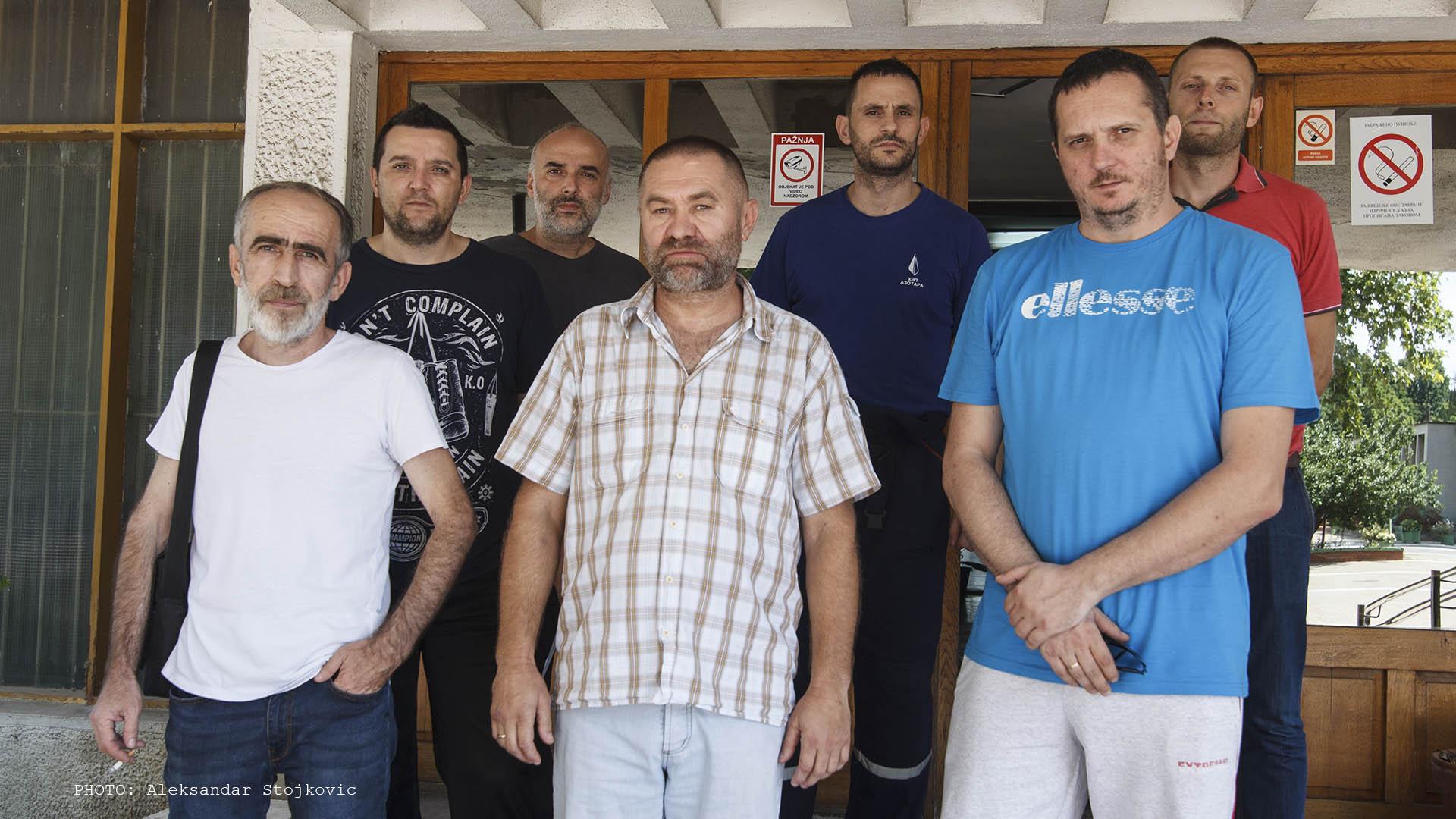 Članovi radne grupe u Azotari Pančevo