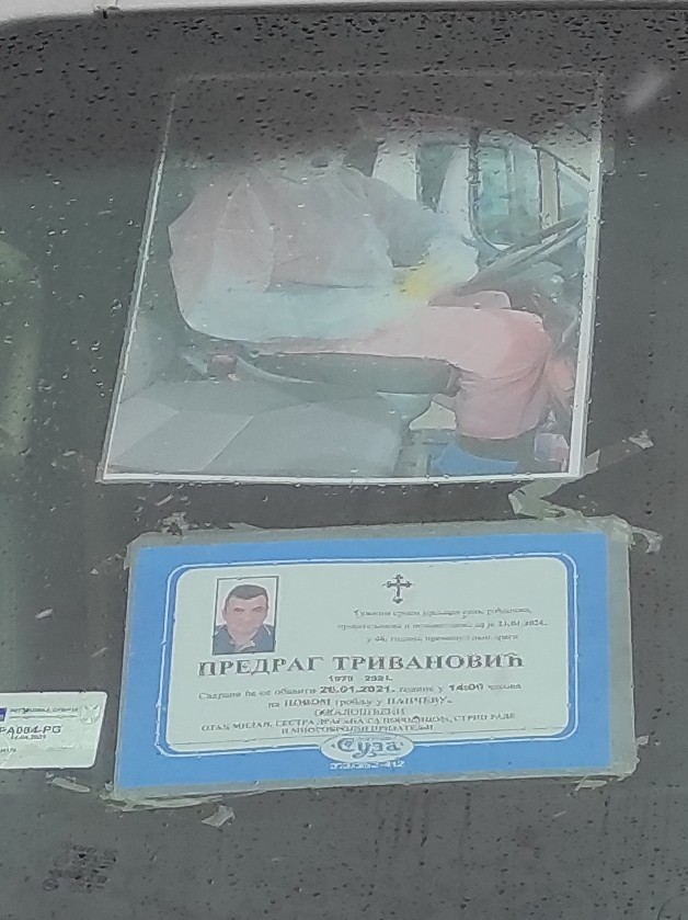 Sahrana vozača Hitne pomoći