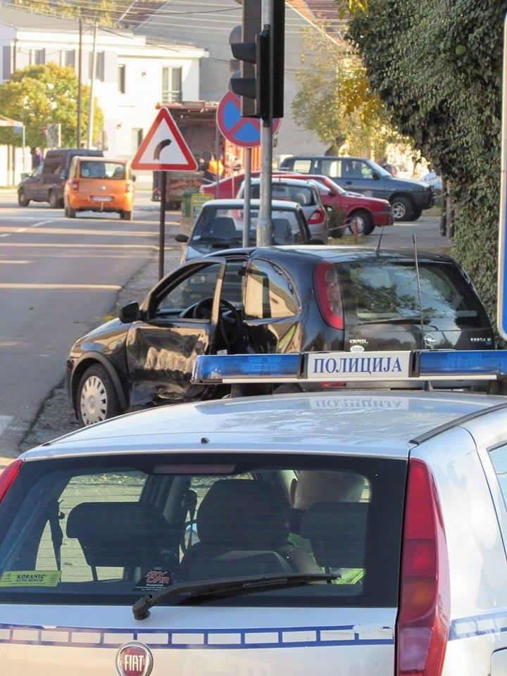Saobraćajni udes u Pančevu