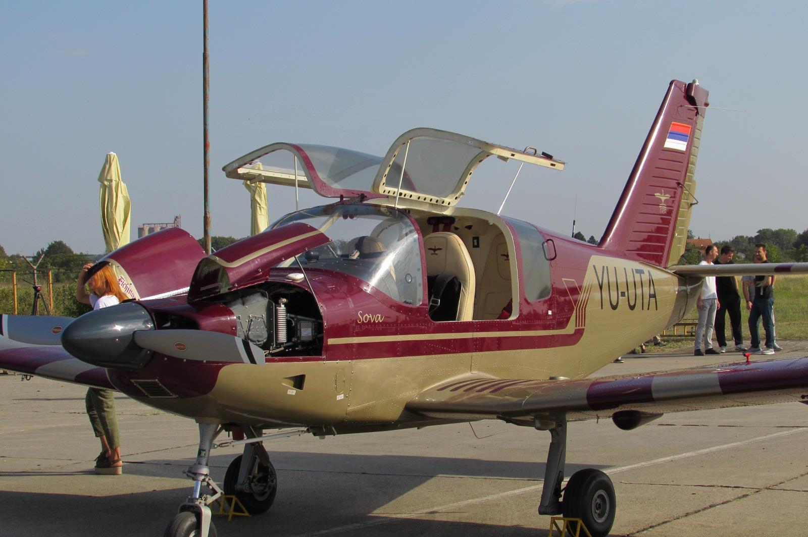 Utvin avion Sova