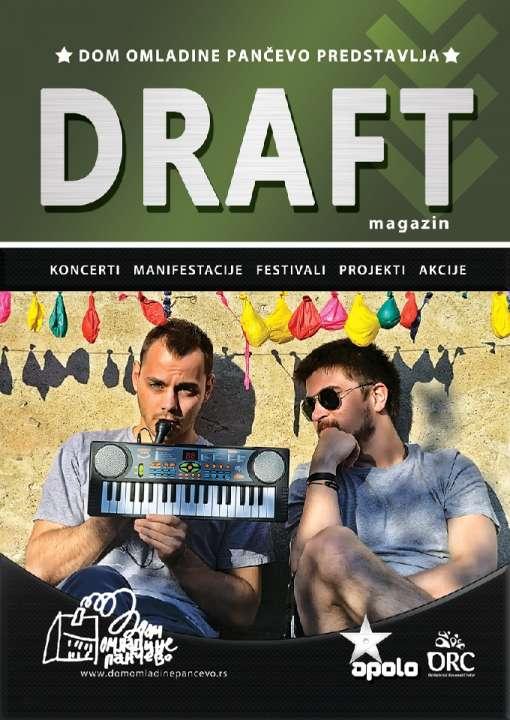 Naslovna 15. Draft magazina