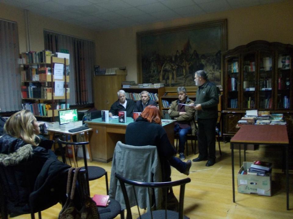 Književno veče u Omoljici