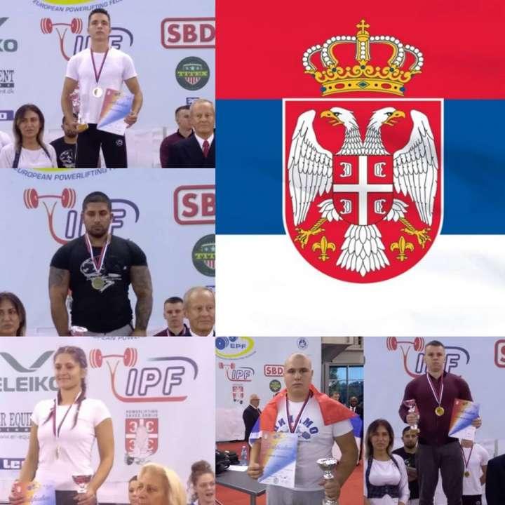 Dinamovci na Balkanskom prvenstvu u powerliftingu 2018.