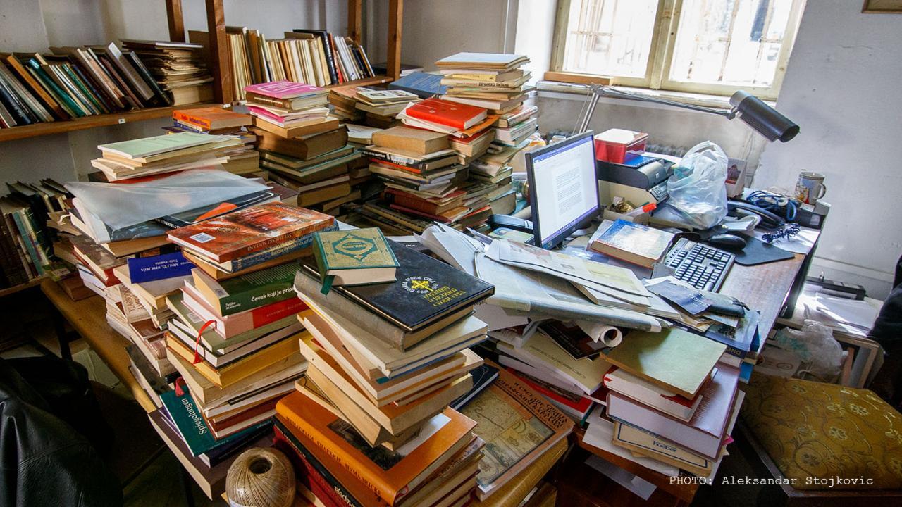 Knjige u Narodnom muzeju Pančevo