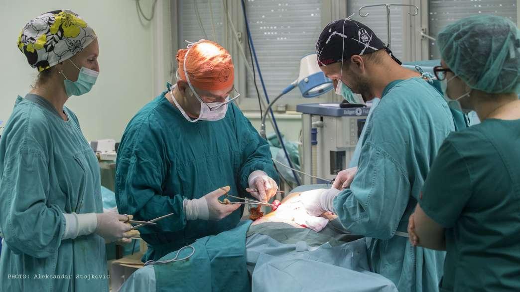 Operacija u pančevačkoj bolnici