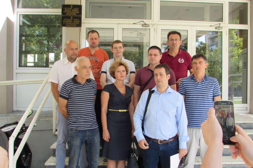 Pančevački opozicionari pred sudom