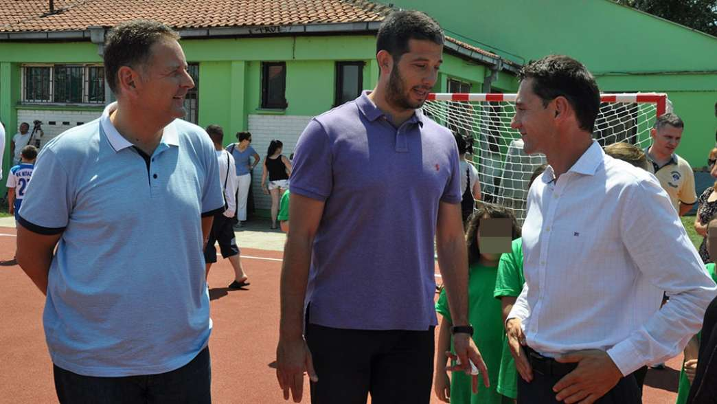 Risitić s Udovičićem i bivšim gradonačelnikom Pavlovom