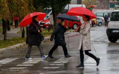Pančevo 3. novembar 2016. Kišno prepodne.
