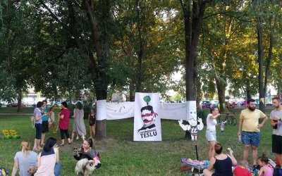 Piknik na našoj livadici na Tesli