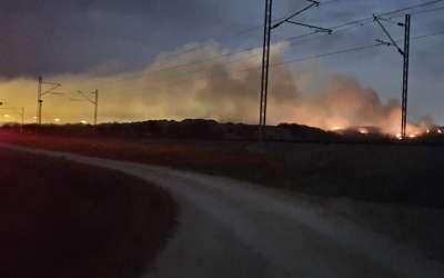 Požar na staroj deponiji
