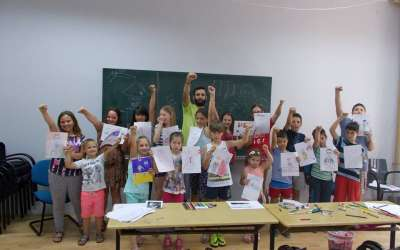 Škola crtanja Nikola Dragaš u Domu omladine Pančevo