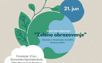 Tribina Zeleno obrazovanje