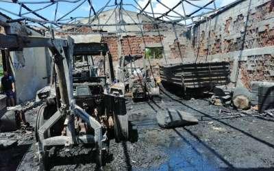Posledice požara u Banatskom Novom Selu