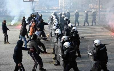vežba policije