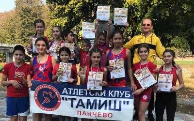 Atletičari Taamiša na uličnoj trci u Valjevu