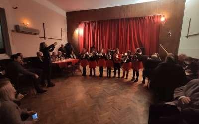 Brass pilići na Svetosavskom balu u Pančevu