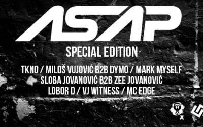 ASAP Special Edition najava
