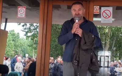 Protest u Azotari