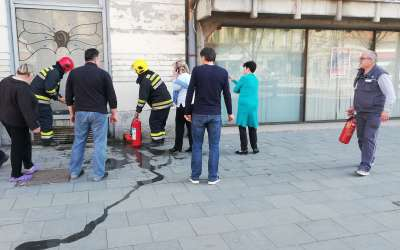 Požar u banci