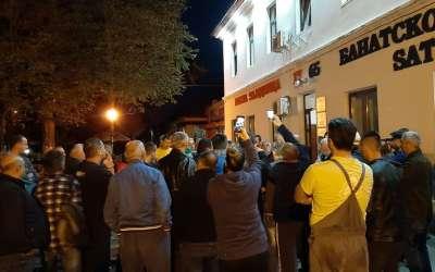 Protest u Banatskom Novom Selu u petak