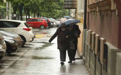 Kiša u Pančevu