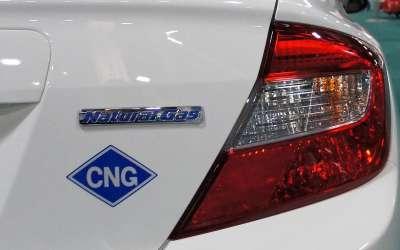 Honda na komprimovani gas