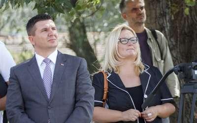 Danijela Lončar i Zoran Tasić