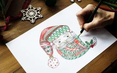 Deda Mraz crtez