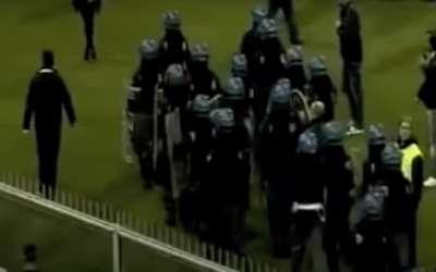 Prekid utakmice u Đenovi