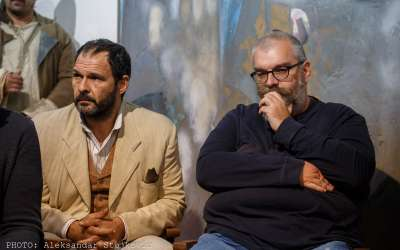 Vule Žurić i Aleksandar Srećković Kubura