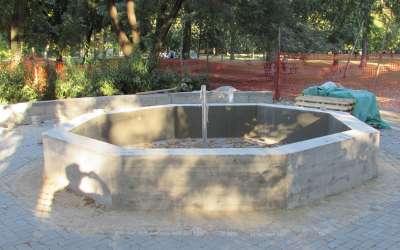 Fontana u Narodnoj bašti Pančevo