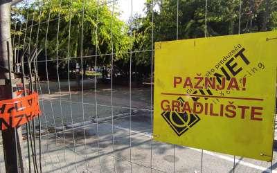 Gradilište Gradski park