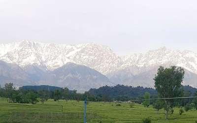 Himalaji vidljivi iz Indije