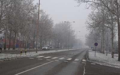 Pančevo magla zima Spoljnostarčevačka